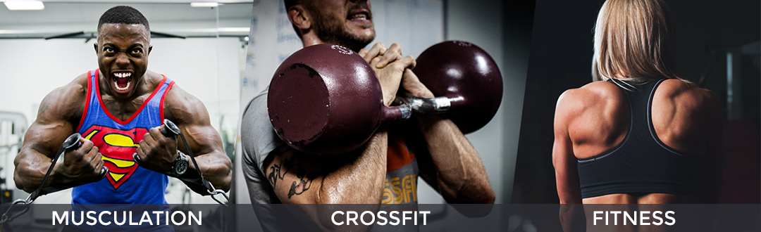 appareils musculation crossfit fitness